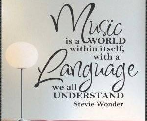 Music Is a Language