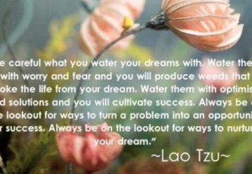 Watering Your Dreams